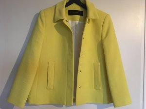 ZARA Kurz Jacke Gr. 38 M neuwertig gelb