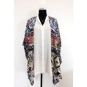 Zara kurzarm Blusen mit Spitze in weiß 38 40 crinkle Look Shirt Tunika