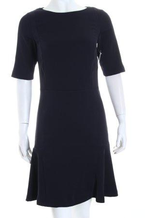Zara Kurzarmkleid dunkelblau Eleganz-Look