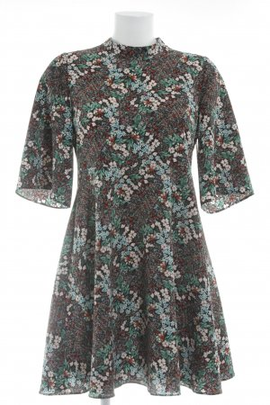 Zara Kurzarmkleid florales Muster Gypsy-Look