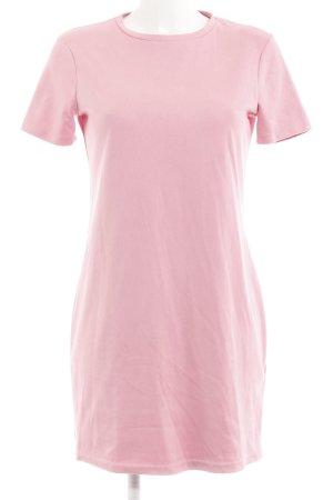 Zara Kurzarmkleid rosa Casual-Look