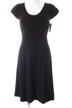 Zara Robe à manches courtes noir élégant