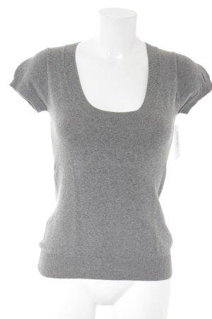 Zara Short Sleeve Sweater grey casual look