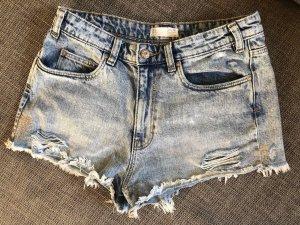 ZARA Kurze Jeans-Shorts HotPants Gr. 36