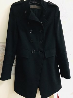 Zara kurze Mantel, Herbstmantel, schwarz