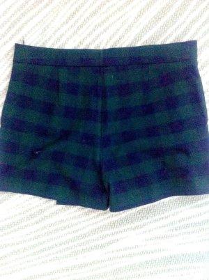 Zara  kurze Shorts Hosenrock schotten style gr . Xs 34