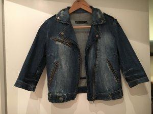 Zara Kurzjacke Jeans Biker S