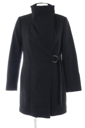 Zara Cappotto corto nero stile casual