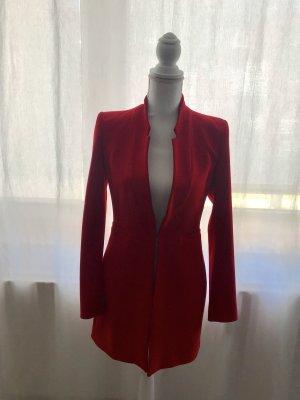 Zara Basic Lange blazer rood