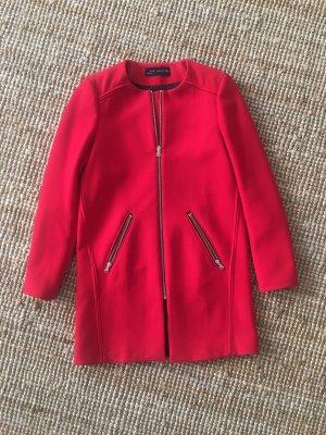 Zara Cappotto corto rosso