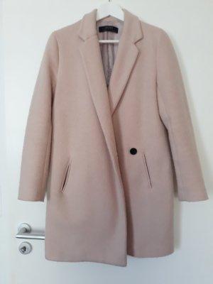Zara Cappotto corto rosa antico