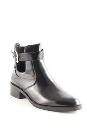 Zara Korte laarzen zwart casual uitstraling