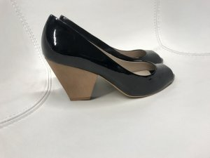 Zara Lackpumps Peeptoes