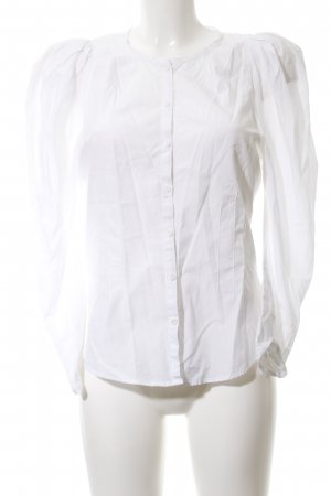 Zara Long Sleeve Blouse white casual look