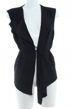 Zara Blusa de manga larga negro estilo «business»