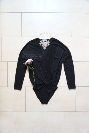 Zara Bodysuit Blouse black