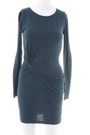 Zara Langarmkleid blau Casual-Look