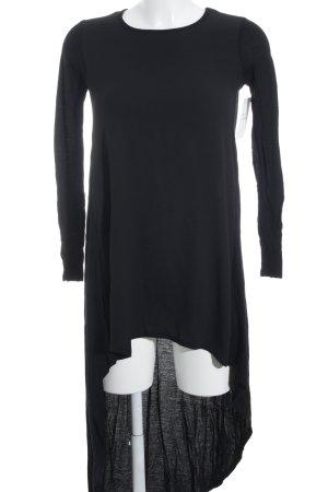 Zara Robe à manches longues noir style mode des rues