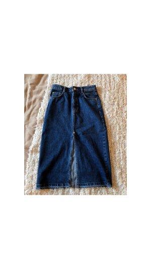 Zara Denim Skirt blue