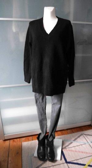 ZARA: Langer oversized Pullover ° Schwarz ° HW 2017/18 ° L