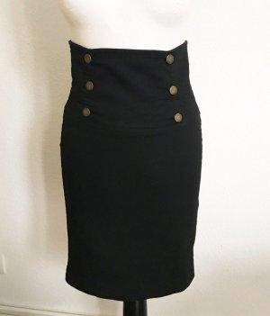 Zara Falda color bronce-negro