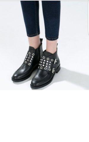 Zara leder Ankle Boots ! Super schöne Stiefeletten !