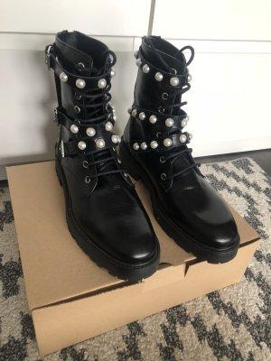 Zara Leder Boots Gr.39