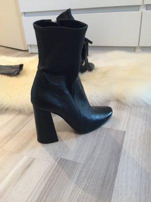 Zara Botas de tobillo negro