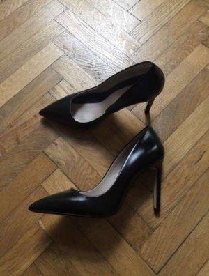 ZARA Leder High Heels, Gr. 37