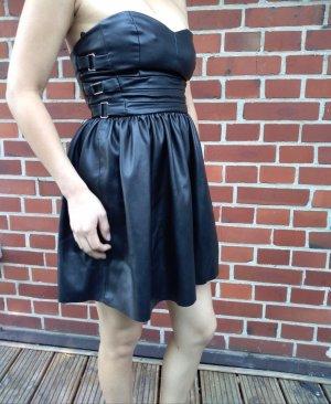 Zara Leder Kleid Gr. M / L Neu mit Etikett