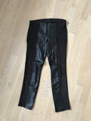 Zara Leder leggings