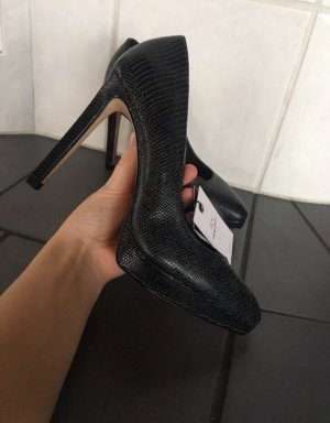 Zara Leder Pumps high heels