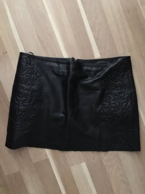 Zara Leather Skirt black