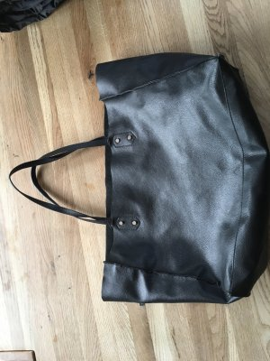 Zara Leder Shopper