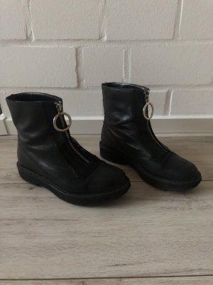 Zara Botas de combate negro