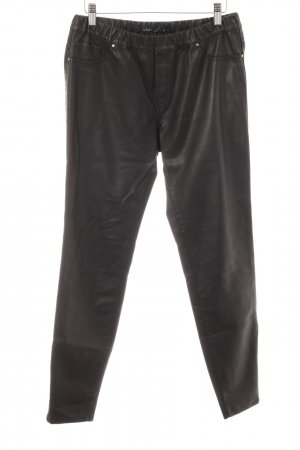Zara Leather Trousers black casual look