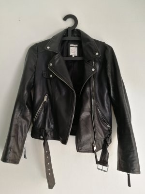 Zara Trafaluc Veste en cuir noir