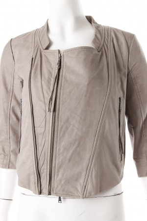 Zara Leather Jacket gray