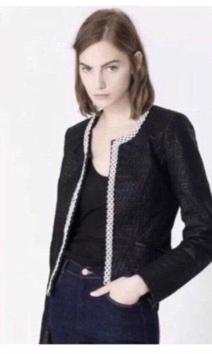 Zara Lederjacke mit Nieten Größe S