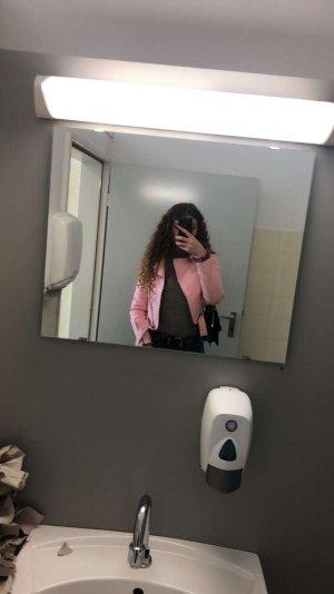 Zara Lederjacke rosa
