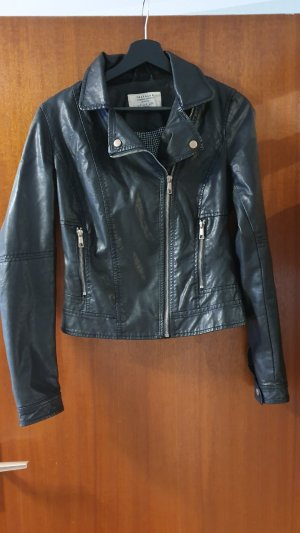 Zara Leather Jacket black