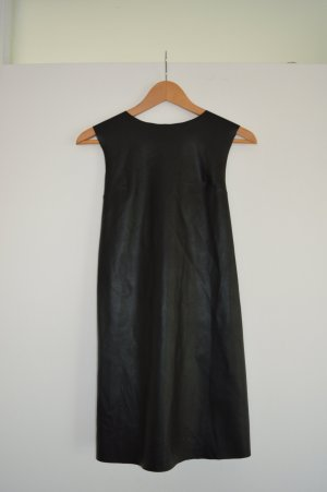 Zara Lederkleid mit tollem Rücken  Gr.36