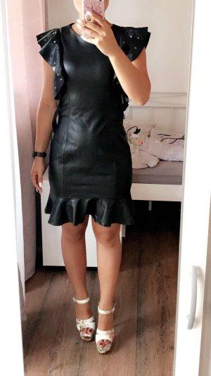 Zara Lederlook Kleid
