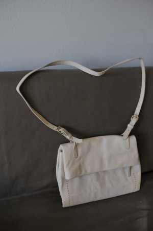 Zara Shoulder Bag beige leather