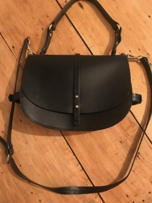 Zara Bag black leather