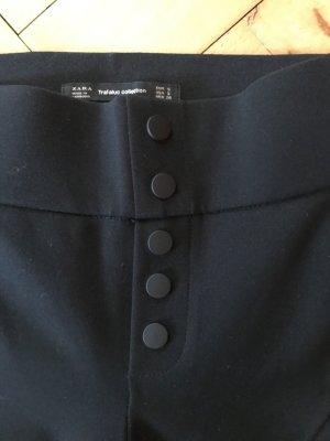Zara Legging Hose stretch schwarz High Waist XS S 32 34 7/8 Hose