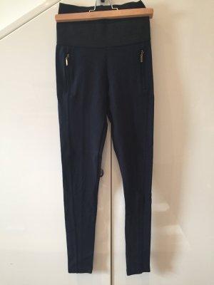 Zara Basic Jeggings negro-azul oscuro