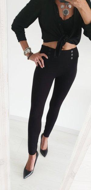 Zara Leggings High Waist Hose mit hohem Bund