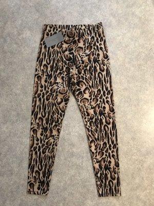 Zara Leggings Hose Leoparden Print M