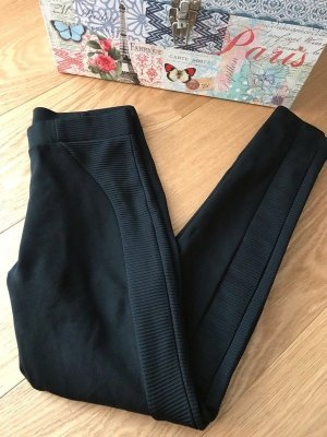 Zara Leggings schwarz dick high waist neu M